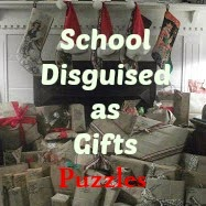 http://ladydusk.blogspot.com/2014/11/school-disguised-as-gifts-puzzles.html
