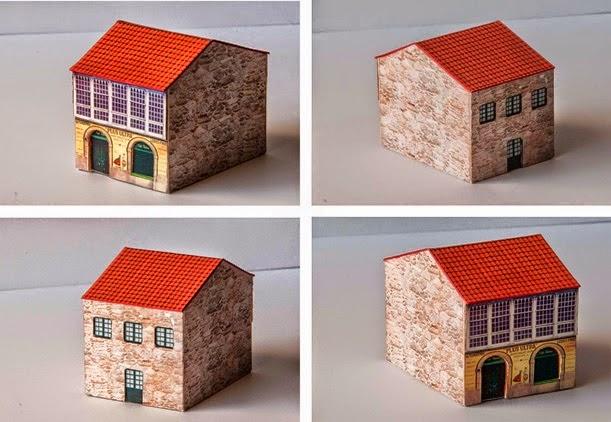 "1402 Paper model assembled by ""Jubilata"""