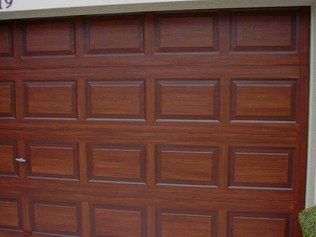 Garage Doors How To Paint And Gel Stains On Pinterest