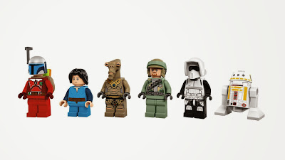 The LEGO Star Wars Main Characters
