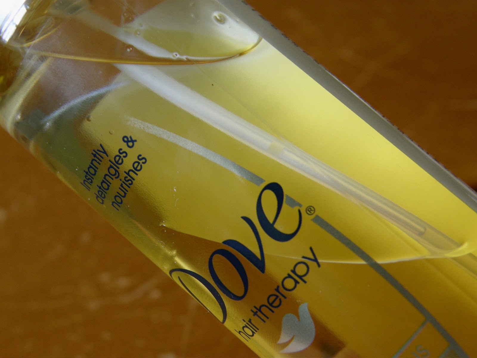 Dove Oil Care Detangler Review Dove's Nourishing Oil Care