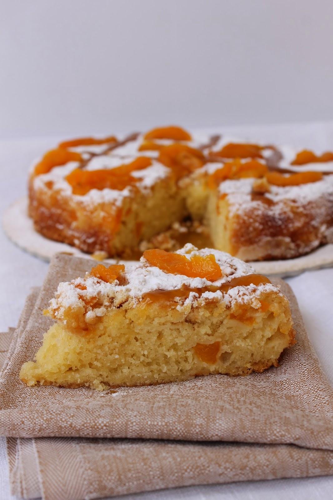 torta alle albicocche
