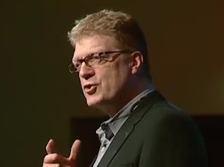 Sir Ken Robinson giving his lecture