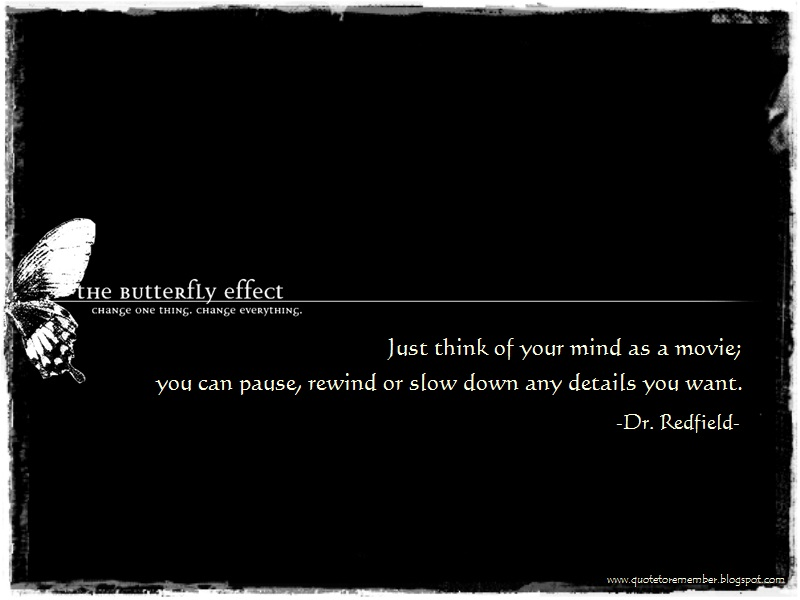Butterfly Effect Quotes. QuotesGram