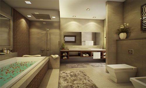 MEWAH ELEGANT DAN INDAH MIRIP LUXURY BATHROOM HOTEL BERBINTANG LIMA