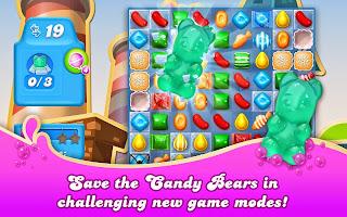 Free download official game Candy Crush Soda Saga .apk full + data