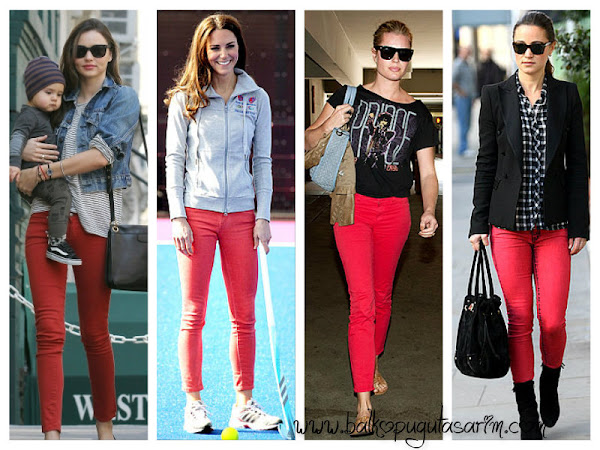 Renkli Pantolon Modası ve Her Renkten Ünlüler