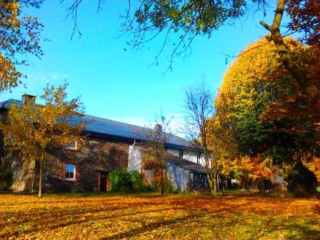 Gite Kerpa Jardin d Ardennes en automne