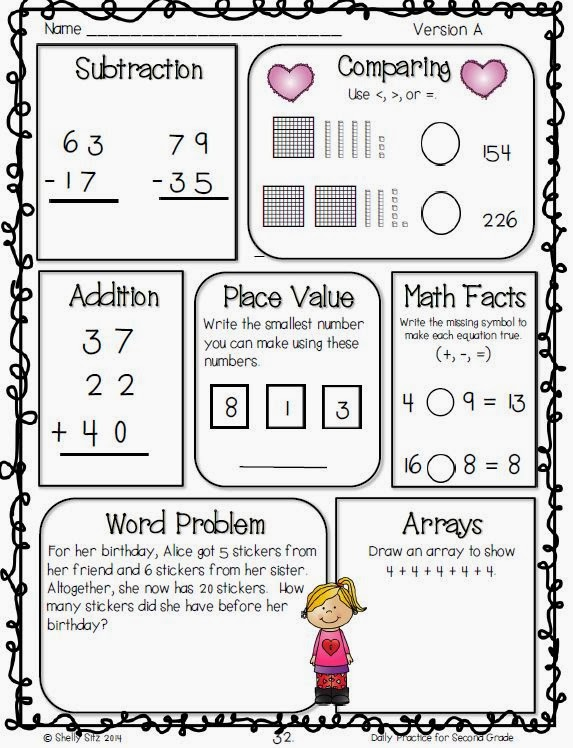 http://www.teacherspayteachers.com/Product/Daily-Practice-for-Second-Grade-February-1084480