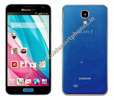 Samsung Galaxy J Android Phablet 4G Blue Front Back Images Photos Review