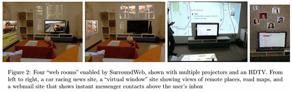 Microsoft SurroundWeb project