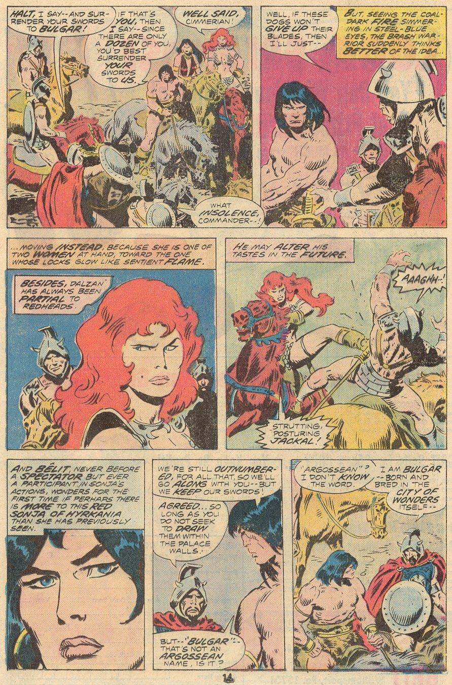 Conan the Barbarian (1970) Issue #68 #80 - English 9