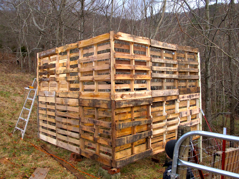 The Goats Pallet Barn