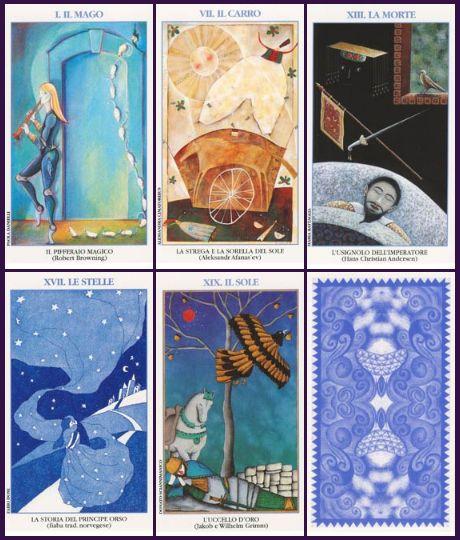 Lo Scarabeo Fairy Tale Tarot Tarocchi delle Fiabe ไพ่ทาโรต์ เทพนิยาย นิทาน ไพ่ยิปซี The Fool The Sun The Star ไพ่เดอะซัน ไพ่เดอะฟูล