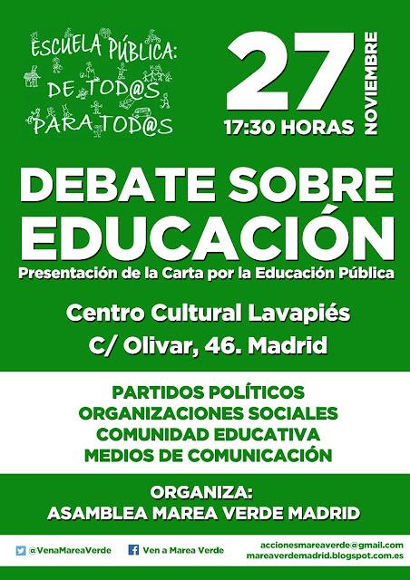 Marea verde Madrid