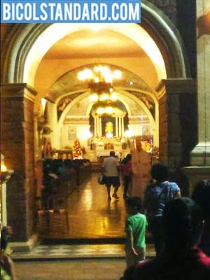 Penafrancia Church on Christmas Day 2014