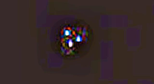 Ingrandimento Foto UFO missione Apollo 17.