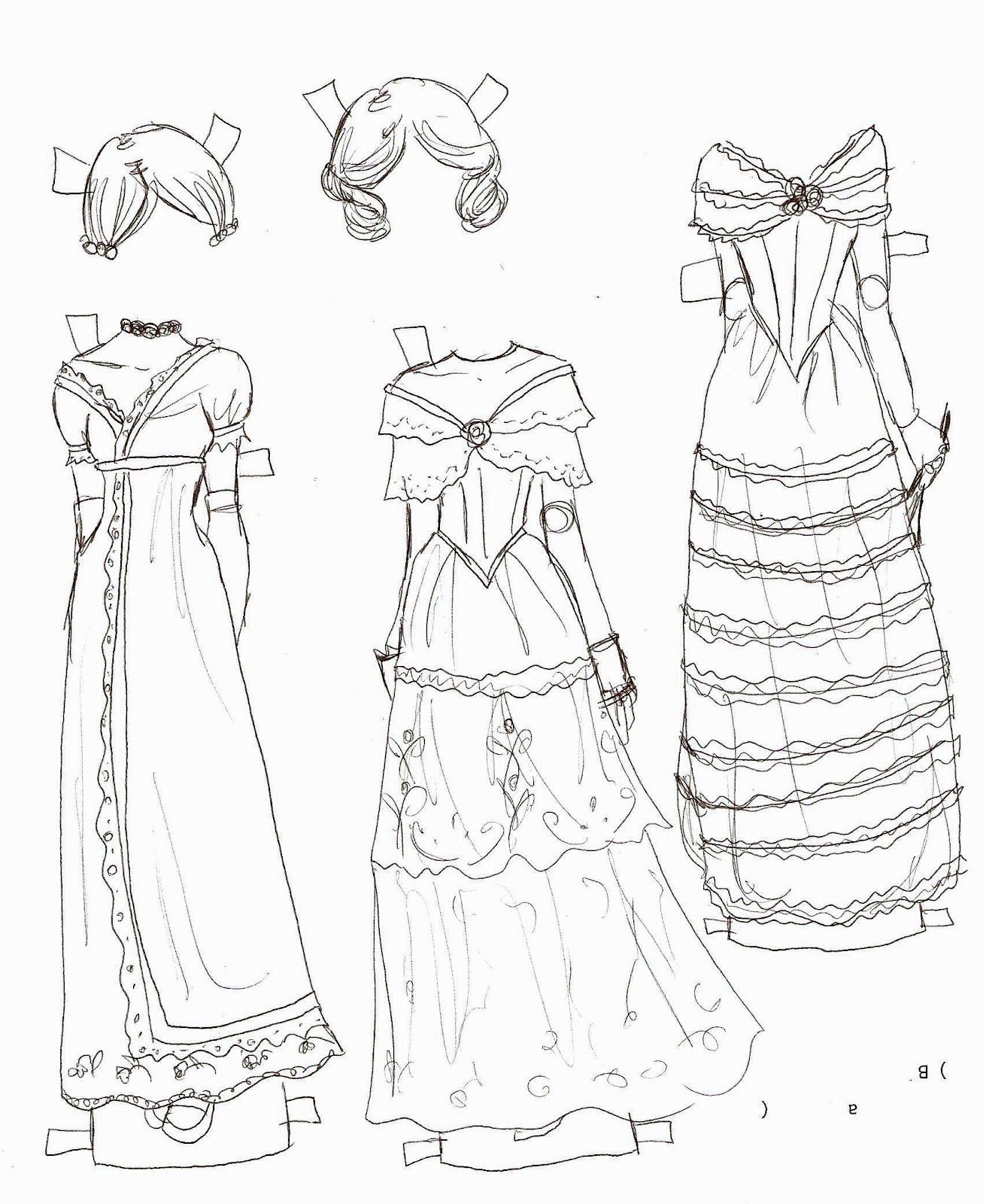 One For All Digital Aerial together with 2674081007890798 additionally Cream Bed Skirt likewise 2012 05 01 archive in addition Dress Card Template. on drawing colored pleated skirt