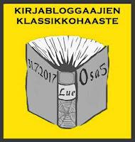 Kirjabloggaajien klassikkohaaste osa 5 (31.7.2017)