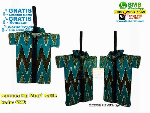 Dompet Hp Motif Batik