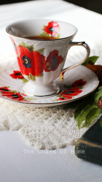 A November Tea: The Charm of Home