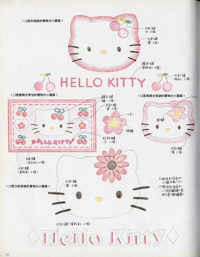 Miss Flanel Online Shop: Pola HEllo Kitty