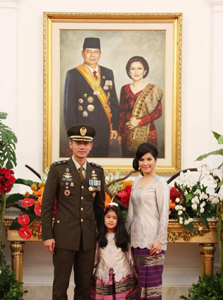 Foto menantu SBY Annisa Pohan