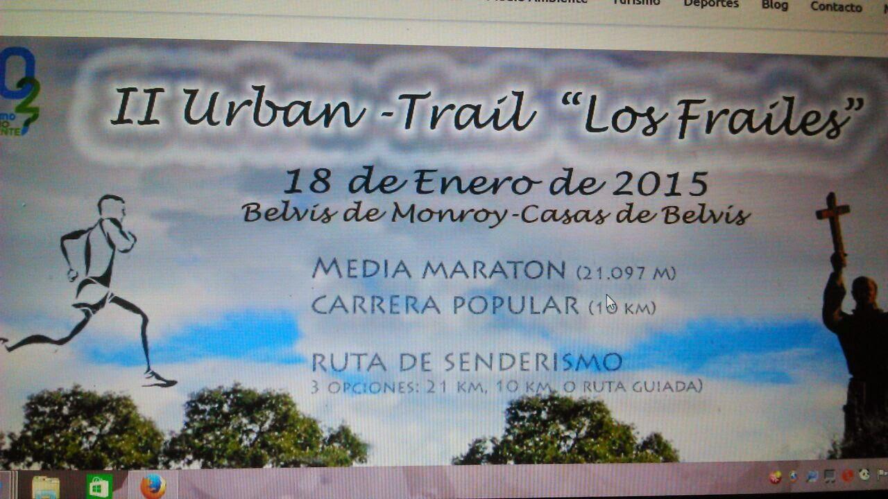 II URBAN TRAIL LOS FRAILES