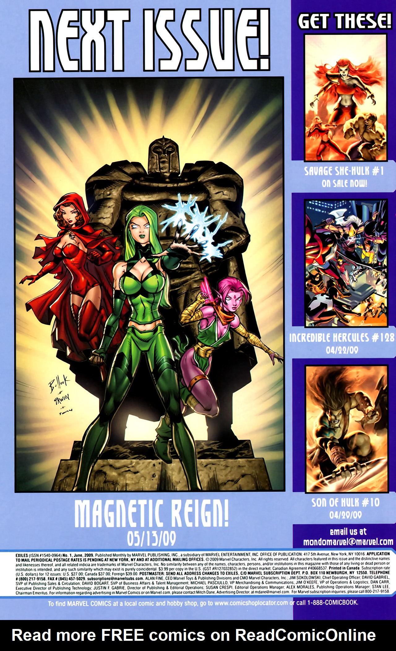 Read online Exiles (2009) comic -  Issue #1 - 32