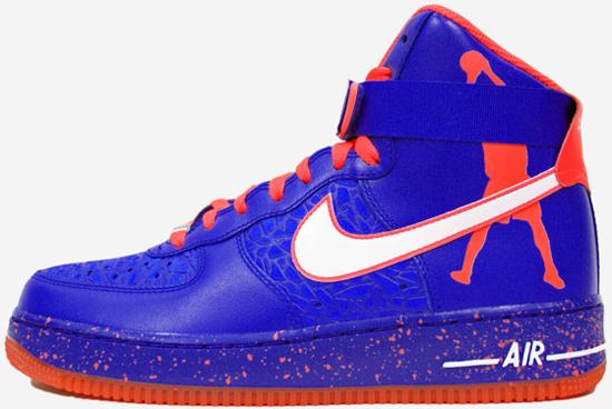 ajordanxi\u0026#39;s Sneaker World: Nike Air Force 1 High CMFT Premium RW QS \u0026quot;Roscoe\u0026quot; Game Royal/White \u0026amp; Total Crimson/White Release Reminder