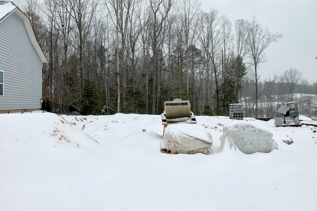 ryan homes footings slab weather delay