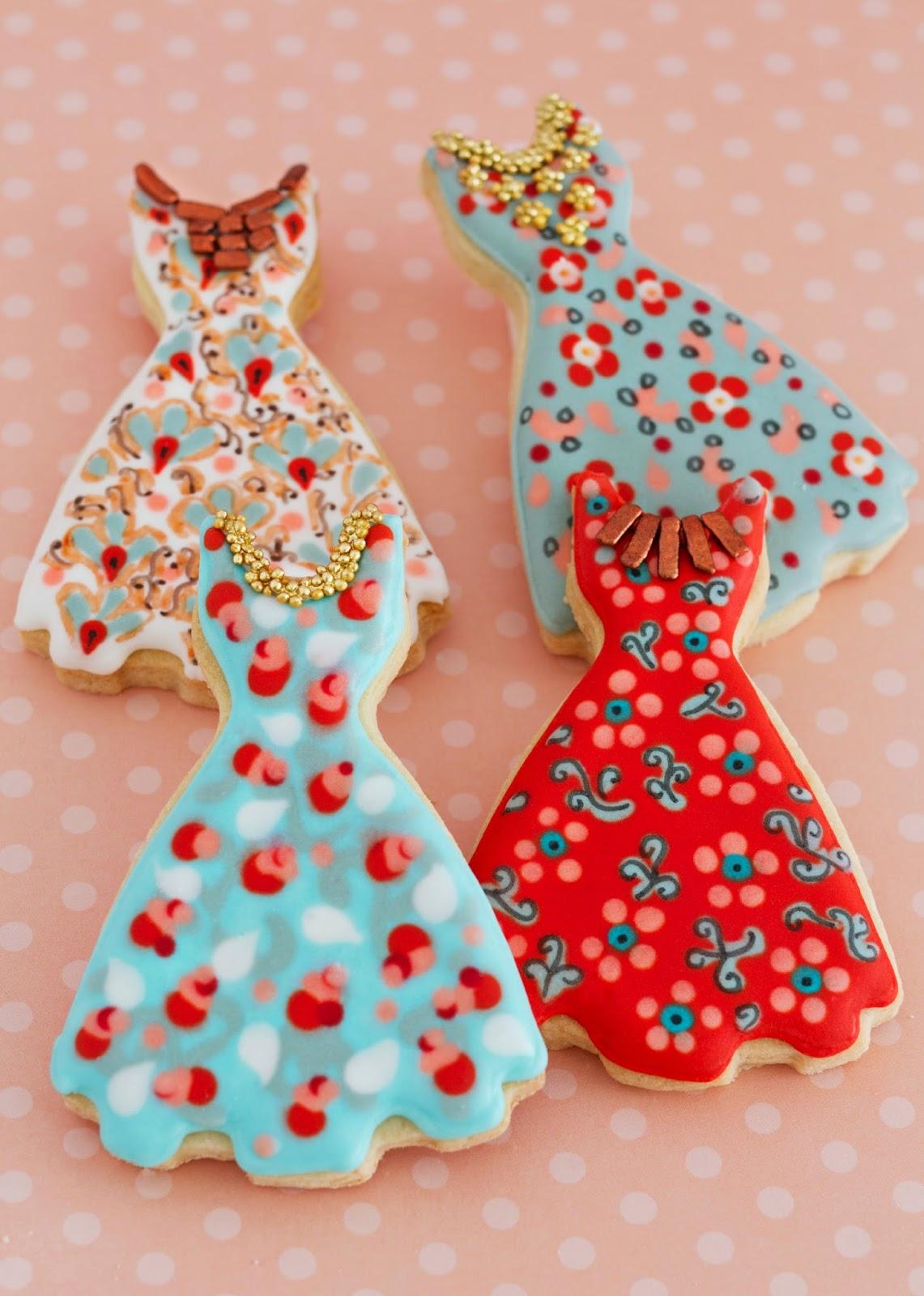 Dress cookie cutter