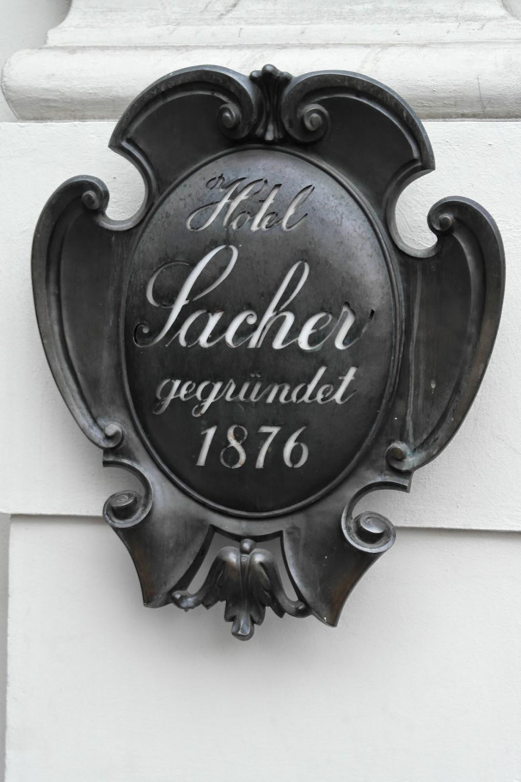 Vienna, Sacher Torte,