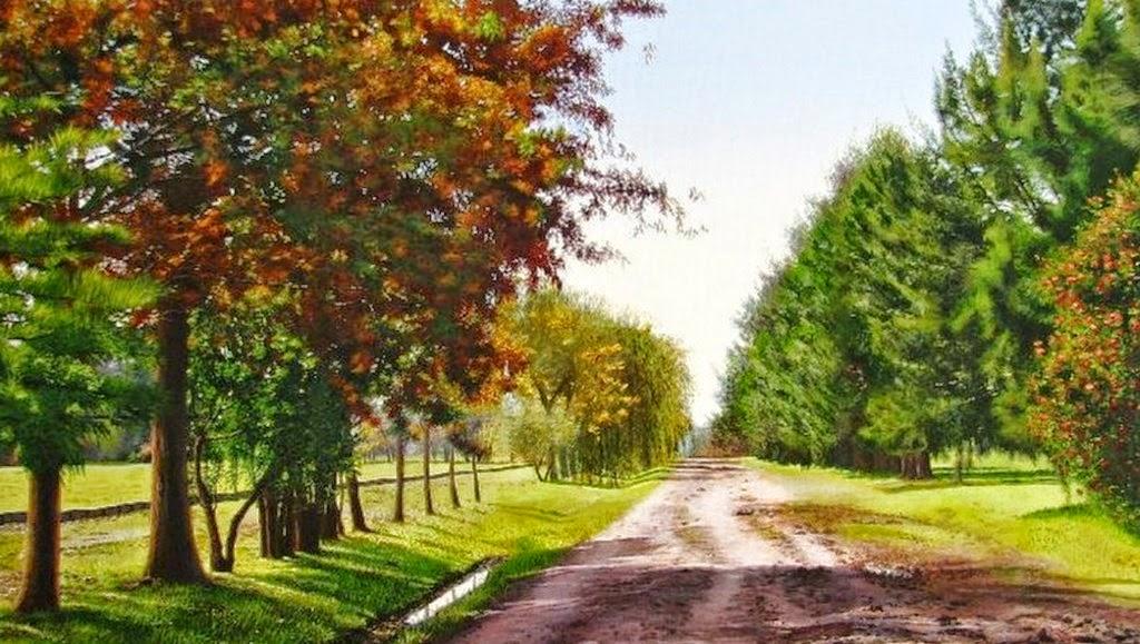 Cuadros modernos pinturas y dibujos cuadros con paisajes for Pinturas para casas de campo
