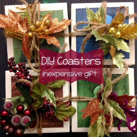 Colorful Coasters for DIY Parent Christmas Gifts - Breezy Special Ed