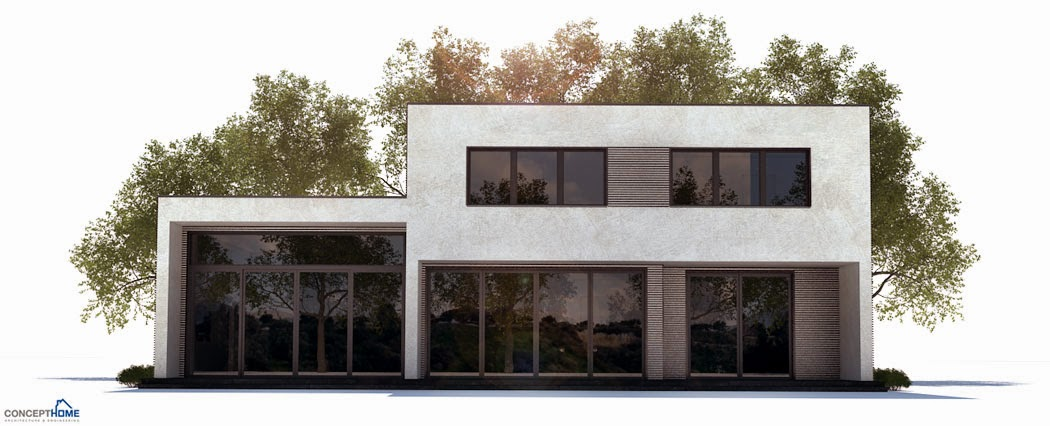 Ch251 Contemporary Beach House Plan Beach House Plans