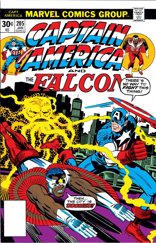 Captain America (1968) Issue #205 #119 - English 1
