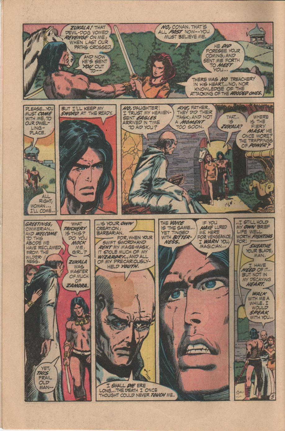 Conan the Barbarian (1970) Issue #14 #26 - English 6
