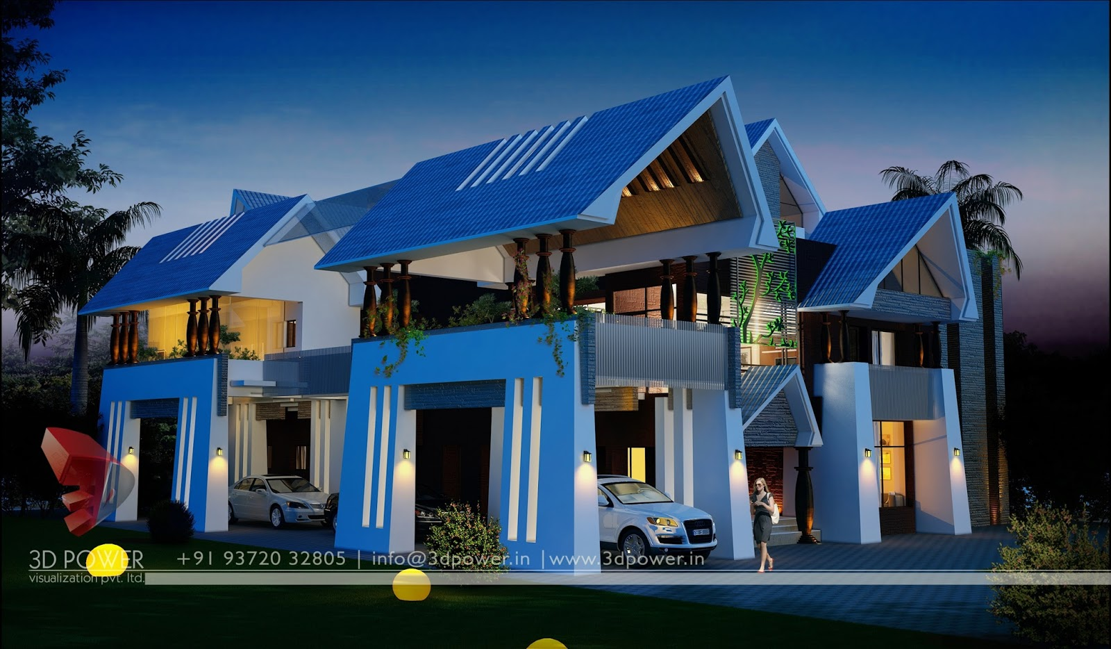 Classic Homes Get A Modern Looks Of 3D Bungalow