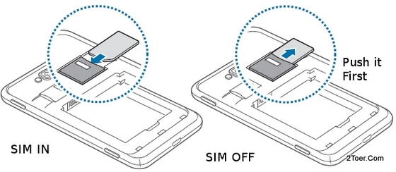 Insert SIM Card Remove Slot Samsung Ativ S GT I8750