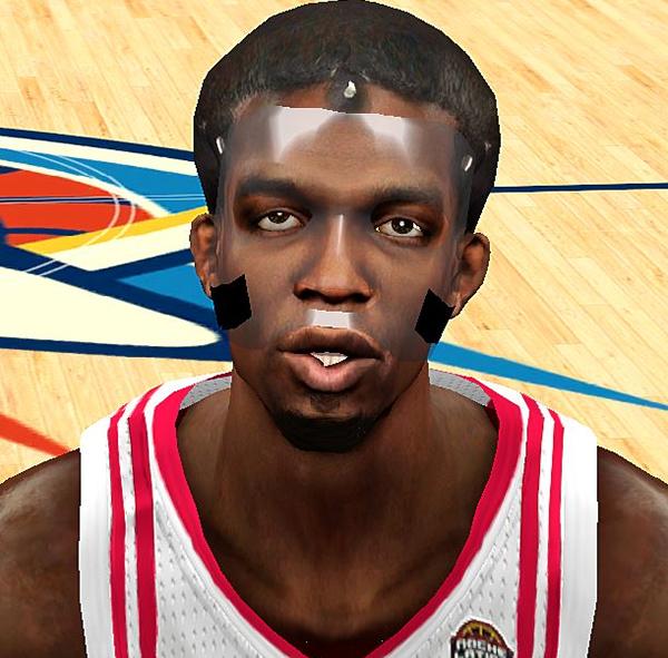 NBA 2K14 Patrick Beverley Mask Face Mod