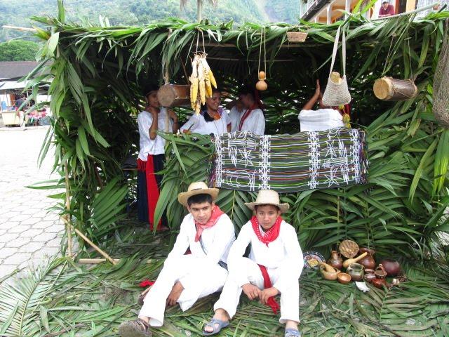 Mayan reinactments