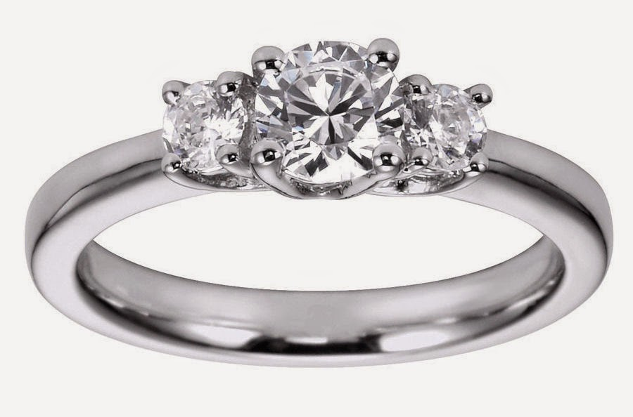 Womens Vintage 3 Diamond Wedding Rings Settings pictures hd