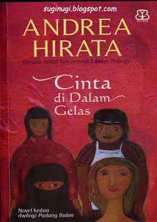 Cinta Dalam Gelas, karya Andrea Hirata, ebook Cinta Dalam Gelas gratis, ebook karya Andrea Hirata