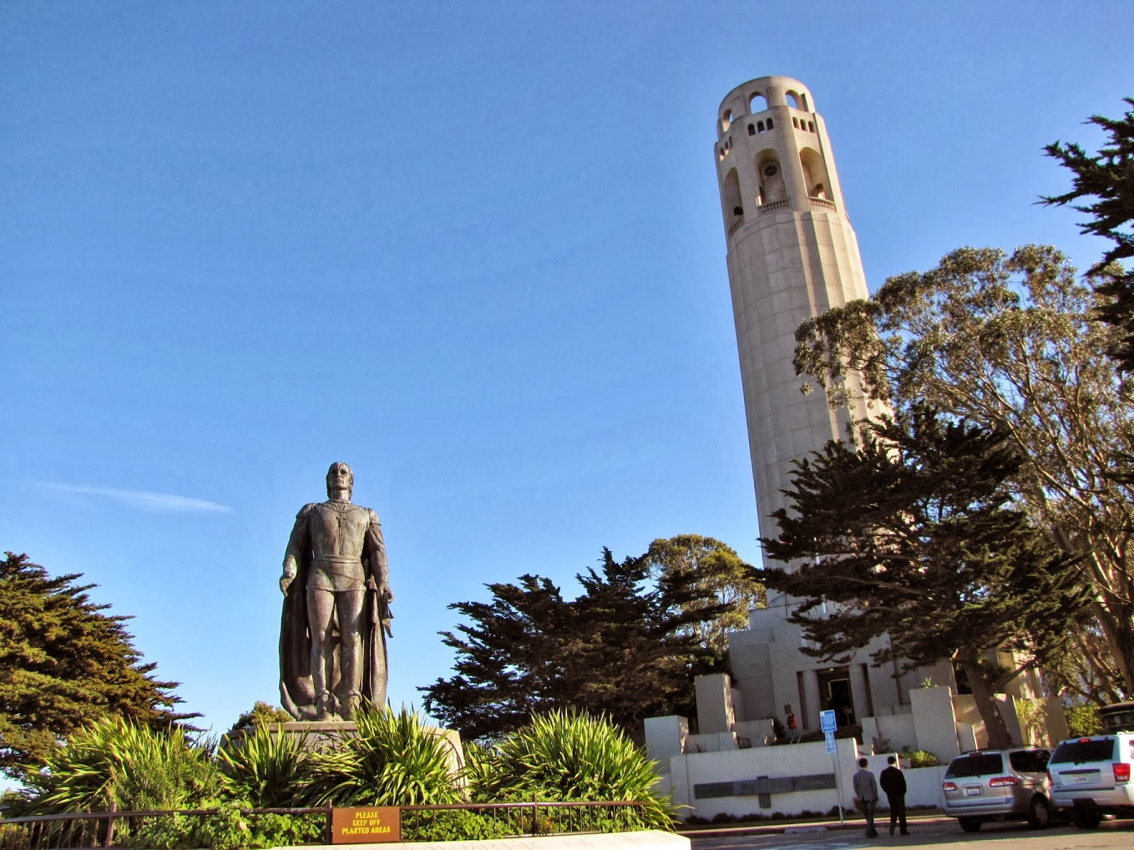 Bay area arts out and about coit tower and stockton for Coit tower mural