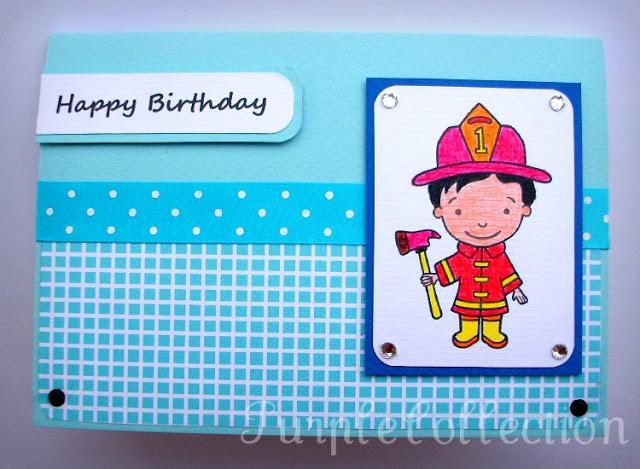 birthday card, blue birthday card, boy birthday card