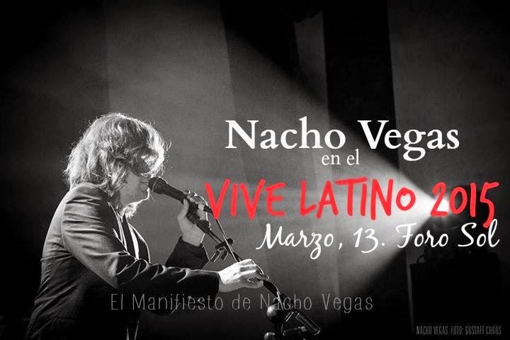 Nacho Vegas en México D.F.