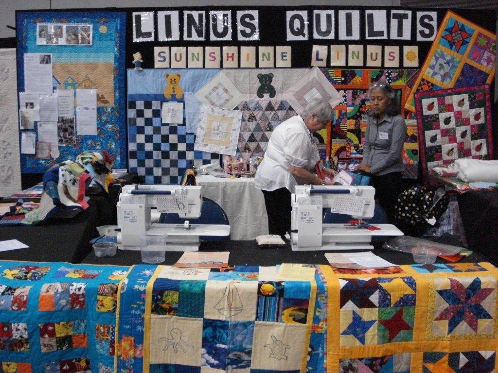 Sunshine Linus Inc.: Linus Stand at the Brisbane Quilt Show : quilt show brisbane - Adamdwight.com