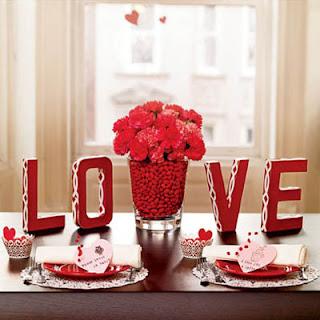 Centros de Mesa para San Valentín