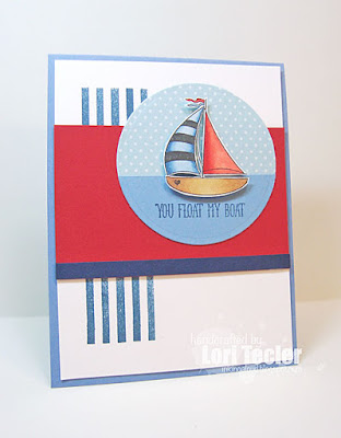 You Float My Boat card-designed by Lori Tecler/Inking Aloud-stamps from Avery Elle
